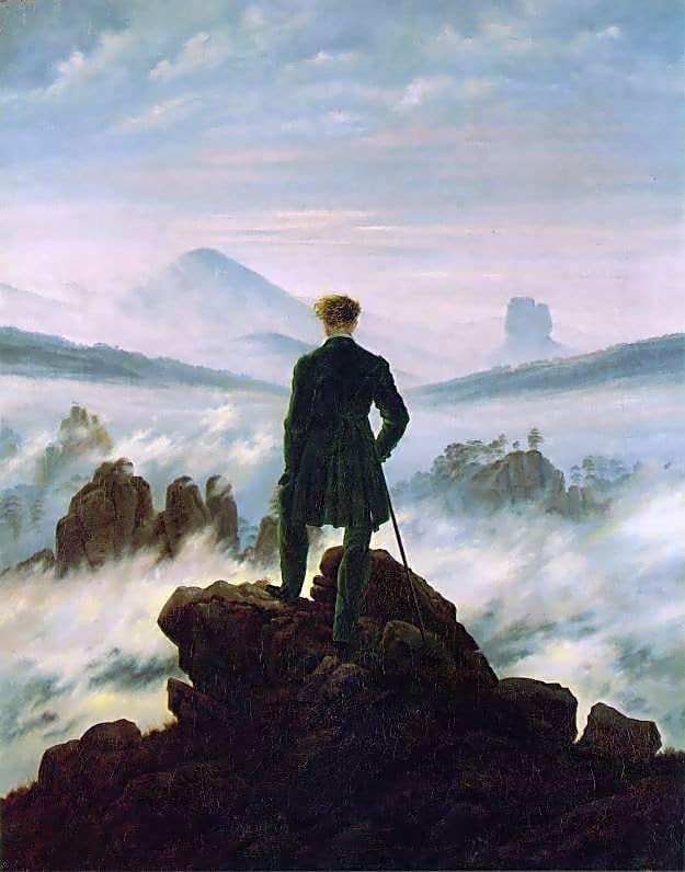 wanderer above sea